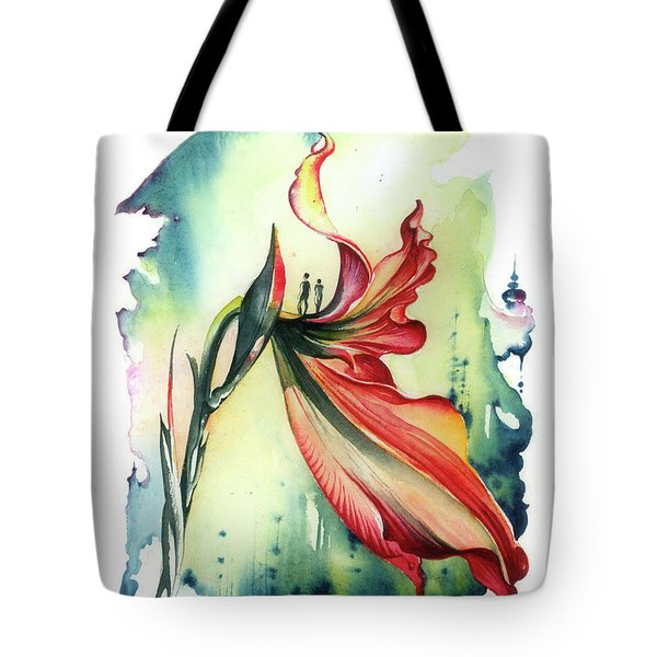 Viewpoint Tote Bag by Anna Ewa Miarczynska