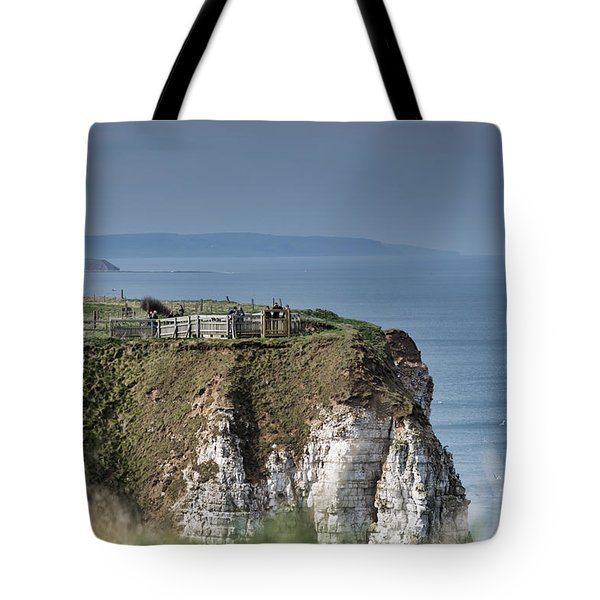 Viewpoint Tote Bag by David  Hollingworth