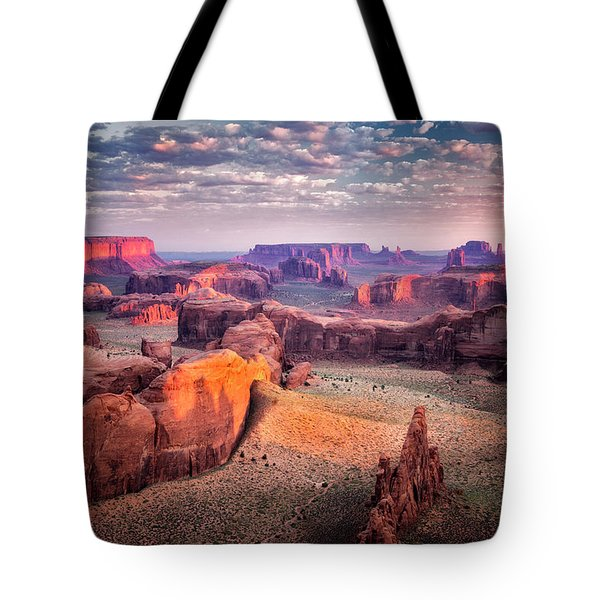 Views From The Edge  Tote Bag by Nicki Frates