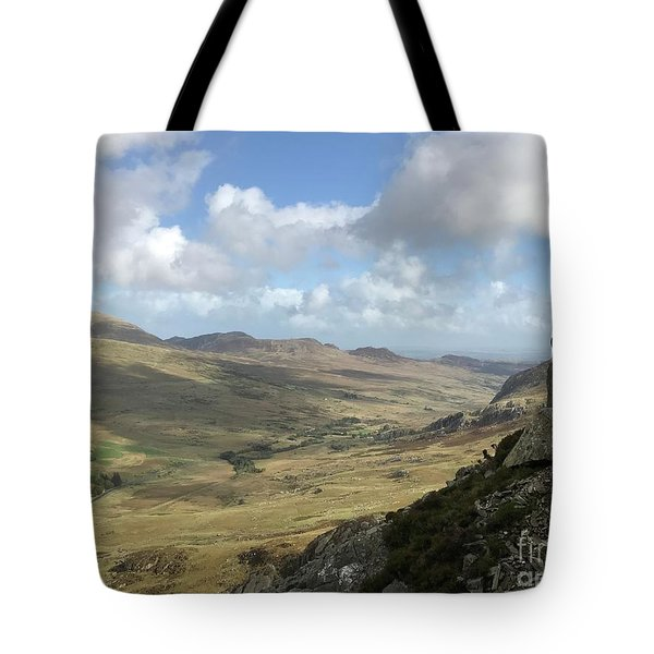Views From Tryfan Tote Bag