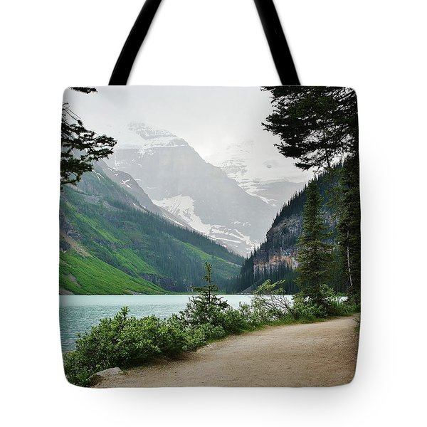 Views Of Louise Tote Bag