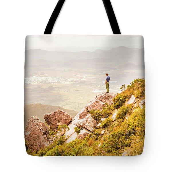 Views On West Coast Tasmania  Tote Bag