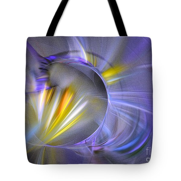 Vigor - Abstract Art Tote Bag