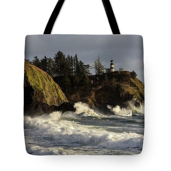 Vigorous Surf Tote Bag