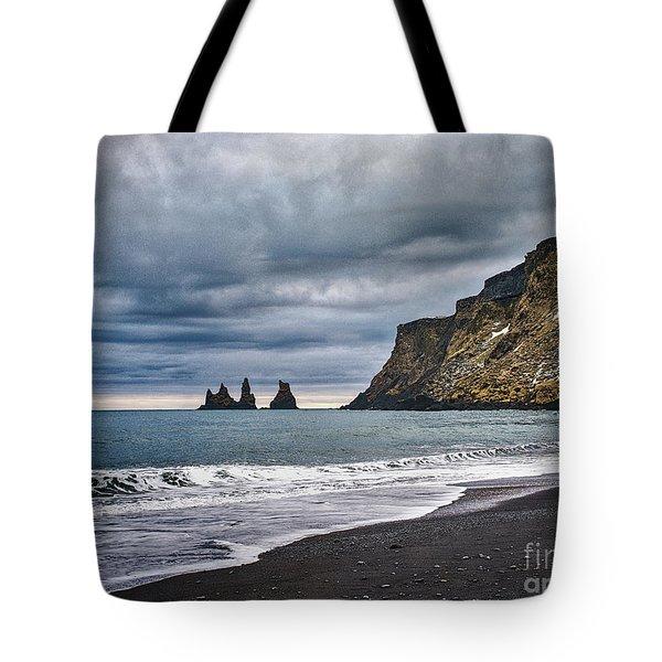 Vik Winter Wonderland Beach Tote Bag