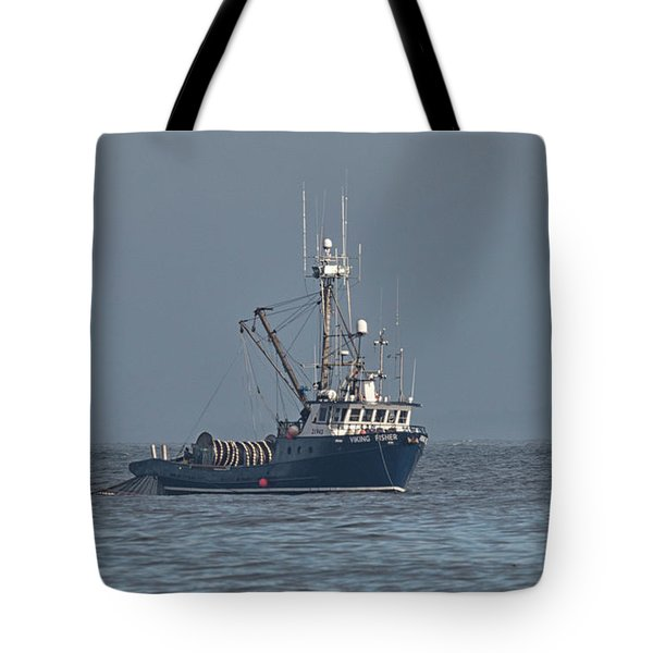 Viking Fisher 1 Tote Bag by Randy Hall