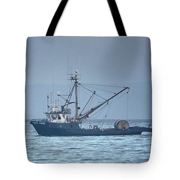 Tote Bag featuring the photograph Viking Fisher 3 by Randy Hall
