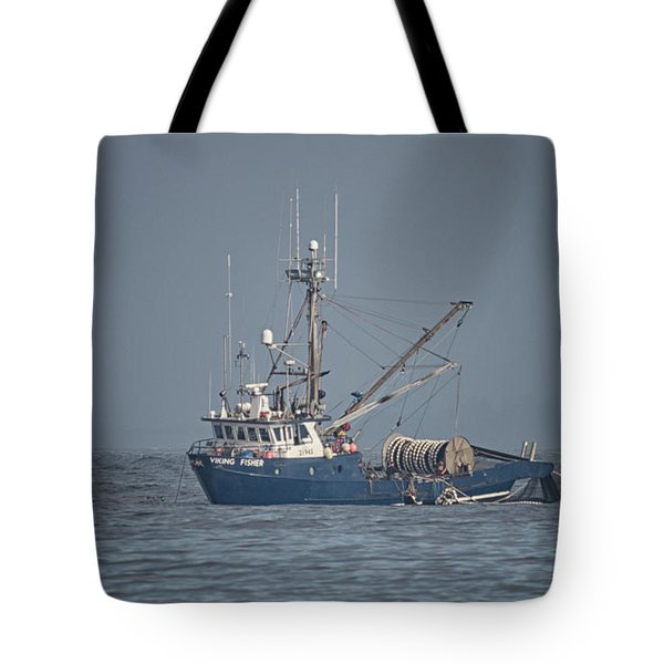 Tote Bag featuring the photograph Viking Fisher 4 by Randy Hall