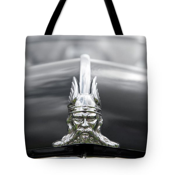 Viking Hood Ornament II Tote Bag by Helen Northcott