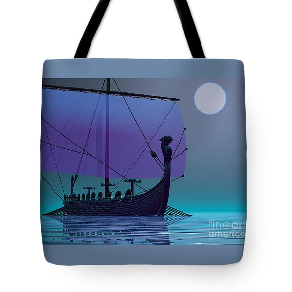 Viking Journey Tote Bag by Corey Ford
