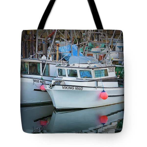 Tote Bag featuring the photograph Viking Maid by Randy Hall