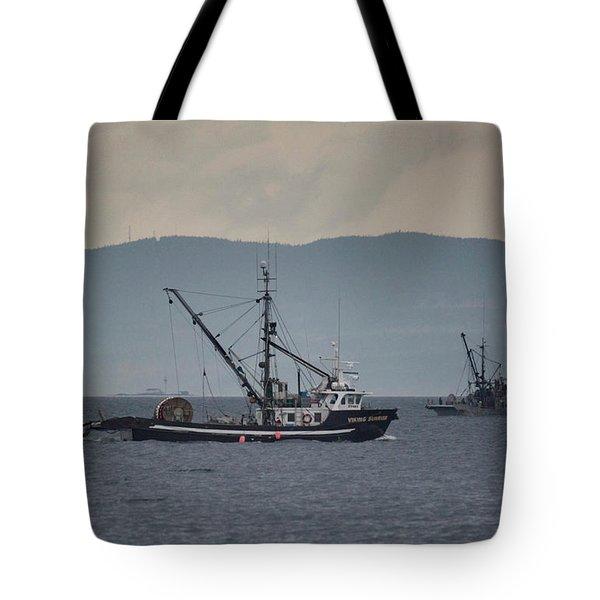 Viking Sunrise Tote Bag