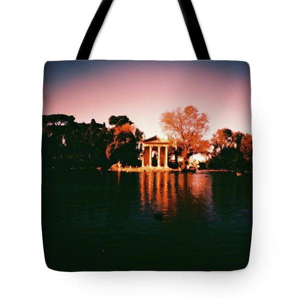 Villa Borghesse Rome Tote Bag