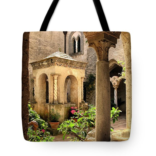 Villa Cimbrone. Ravello Tote Bag