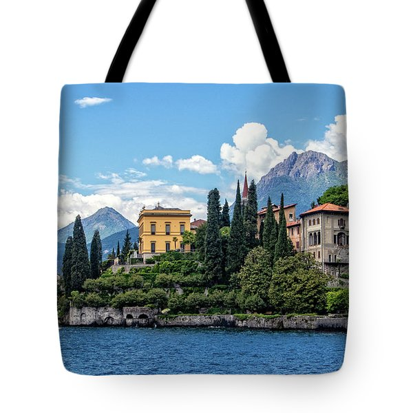 Villa Cipressi On Lake Como Tote Bag