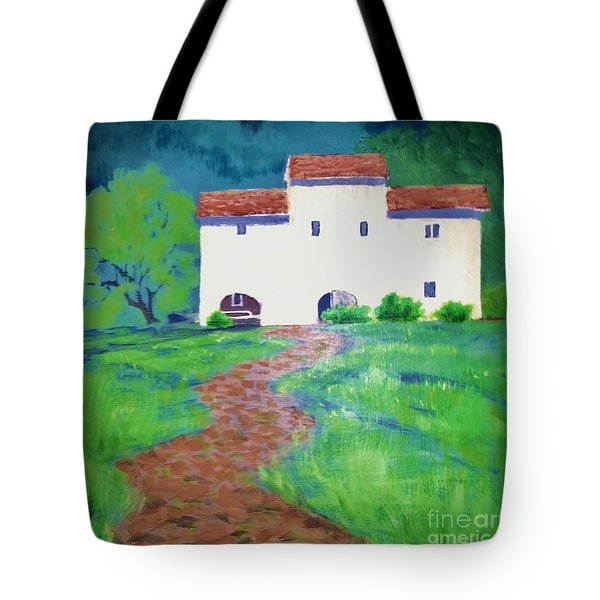 Villa In Tuscany Tote Bag