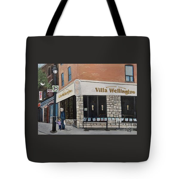 Villa Wellington In Verdun Tote Bag