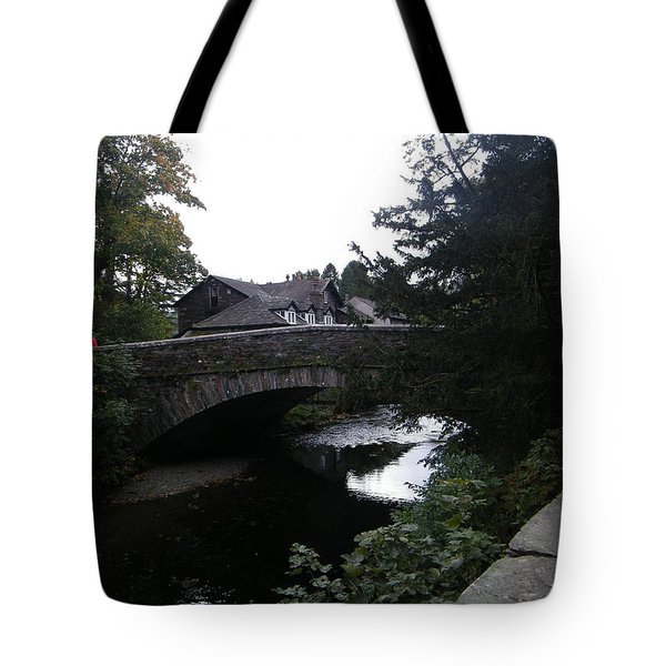 Village Bridge Tote Bag