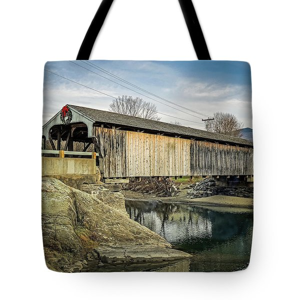 Village Bridge Tote Bag