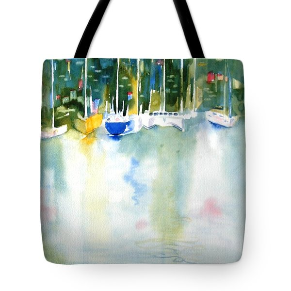 Village Cay Reflections Tote Bag