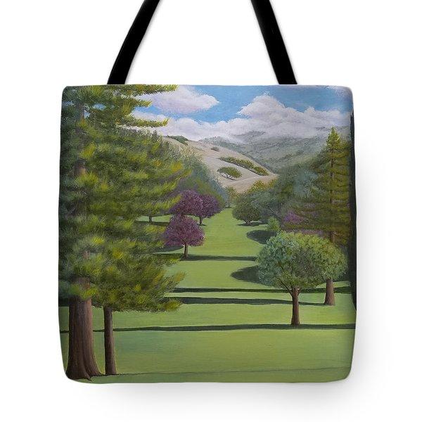 Village Eastern Views Tote Bag