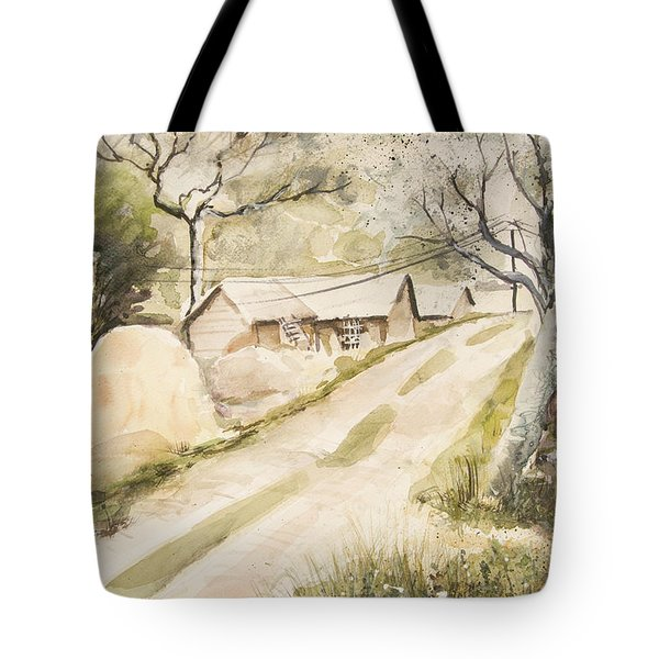 Village Freshness Tote Bag
