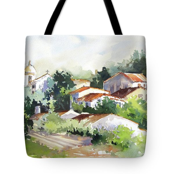 Village Life 5 Tote Bag