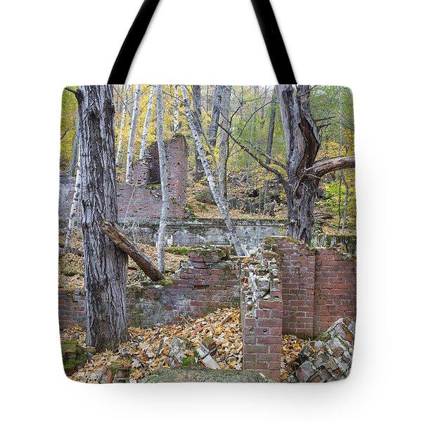 Village Of Livermore - New Hampshire Tote Bag