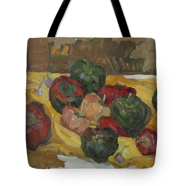 Village Peppers Tote Bag