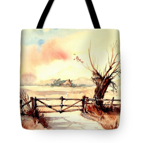 Village Scene IIi Tote Bag