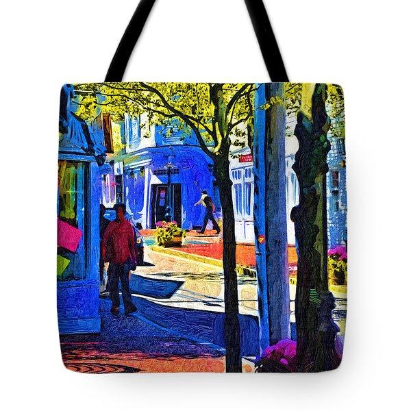Village Shopping Tote Bag