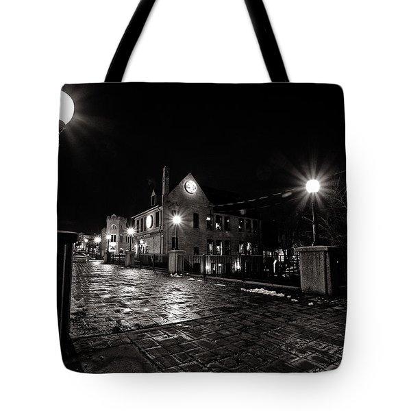 Village Walk Tote Bag