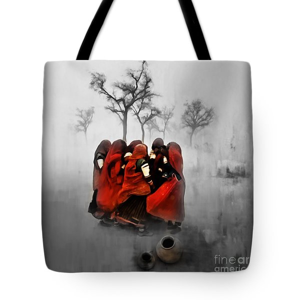 Village Women 01 Tote Bag