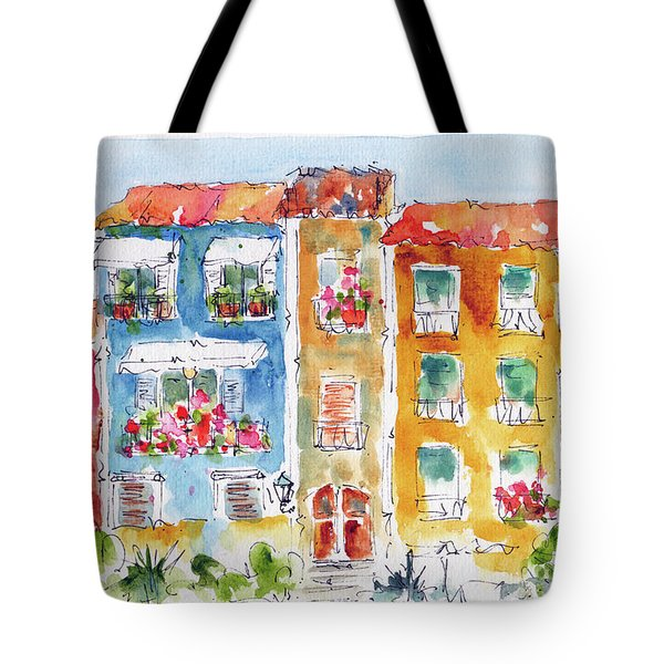 Villajoyosa Spain Tote Bag