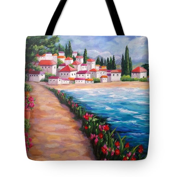 Villas By The Sea Tote Bag