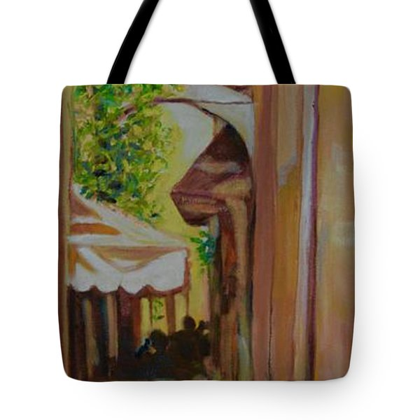 Ville Franche 11 Tote Bag by Julie Todd-Cundiff