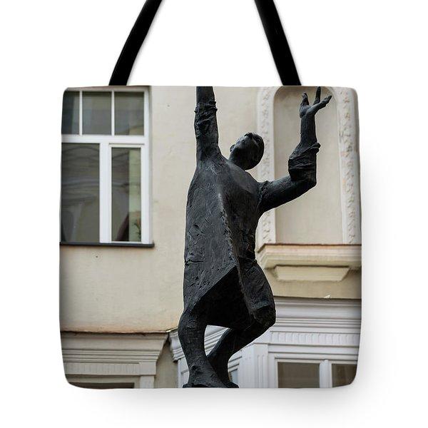 Vilnius Lamplighter Tote Bag