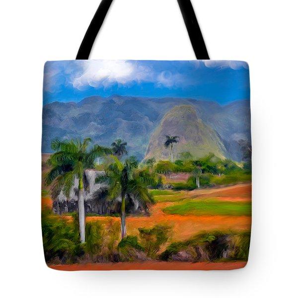 Vinales Valley. Cuba Tote Bag