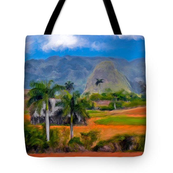 Tote Bag featuring the photograph Vinales Valley. Cuba by Juan Carlos Ferro Duque