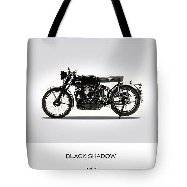 Vincent Black Shadow 1952 Tote Bag by Mark Rogan