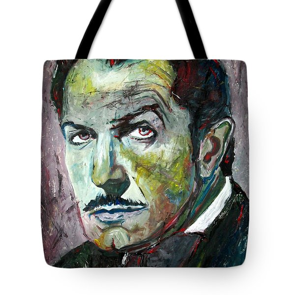 Vincent Price Tote Bag