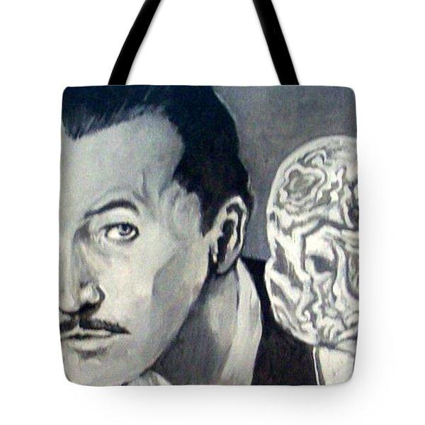 Vincent Price Tote Bag by Paul Weerasekera