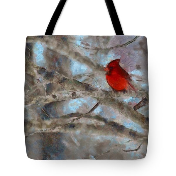 Tote Bag featuring the mixed media Vincent by Trish Tritz