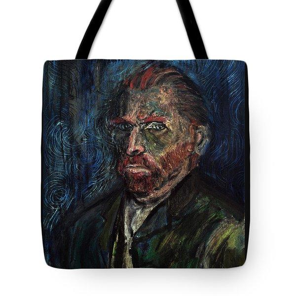 Vincent Van Gogh    Tote Bag by Antonio Ortiz