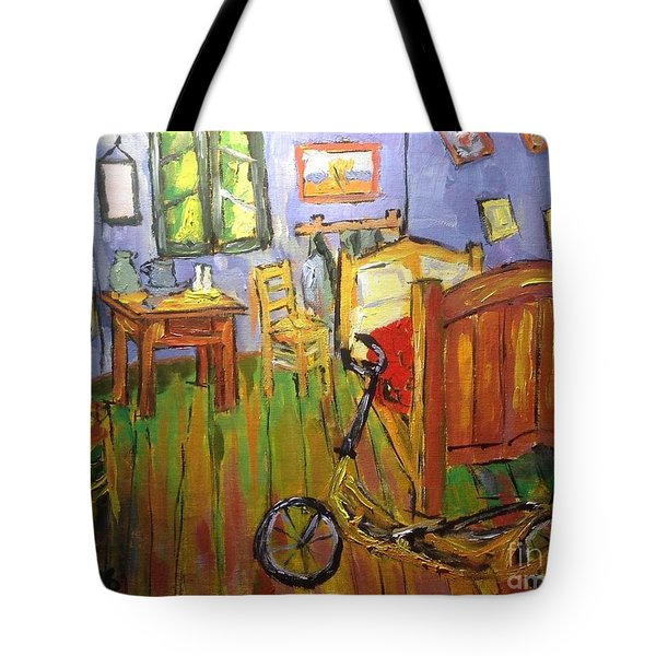 Vincent Van Go's Bedroom Tote Bag