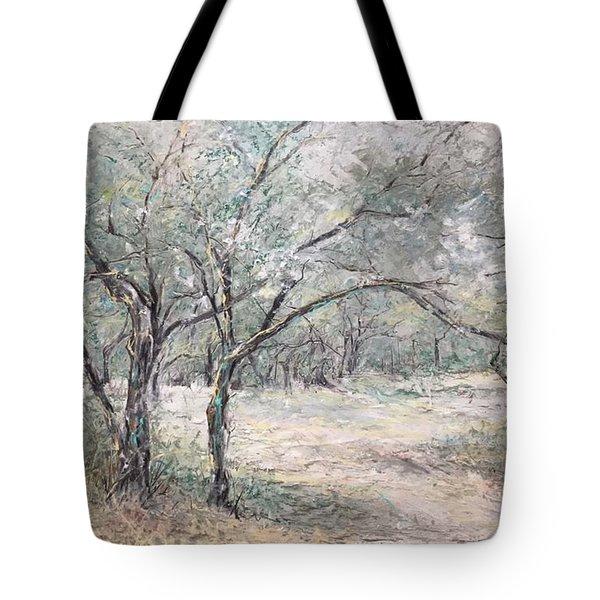 Vincents Olive Trees 2 Tote Bag