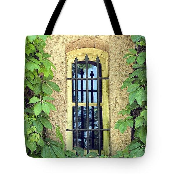 Vined Window I Tote Bag