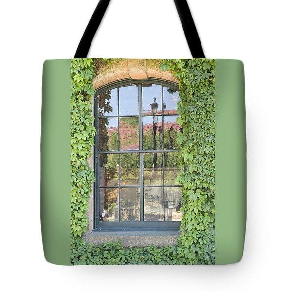 Vined Window II Tote Bag