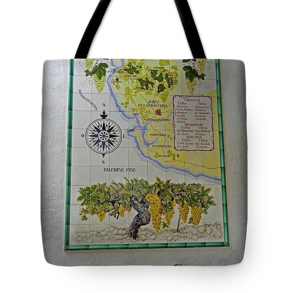 Vinedos Tio Pepe - Jerez De La Frontera Tote Bag