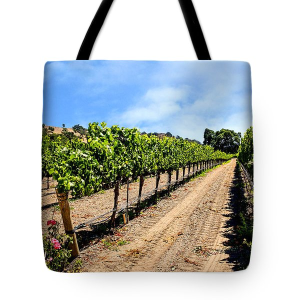 Vines And Roses Tote Bag